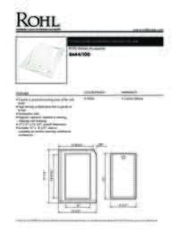 8644100 Spec Sheet