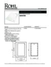 8644102 Spec Sheet