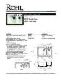 6317 Spec Sheet