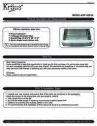 KHF 200 30 Installation Manual