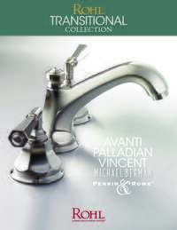 Rohl Transitional Collection Brochure