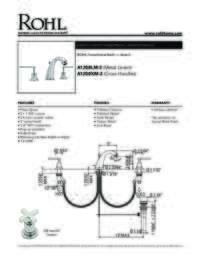A1208LM Spec Sheet