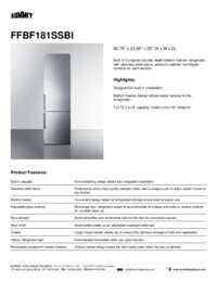 Brochure FFBF181SSBI