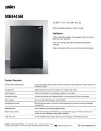 Brochure MBH45B