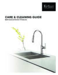 Care and Cleaning Guide