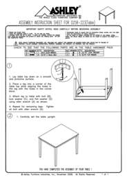 Assembly Instruction D258 223