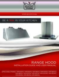 Kucht Hood Manuals
