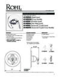 A1400 Spec Sheet