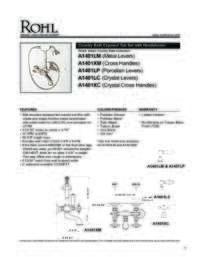A1401 Spec Sheet