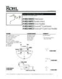 A140544 Spec sheet