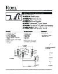 A1408 Spec Sheet