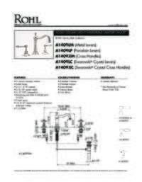 A1409 Spec Sheet