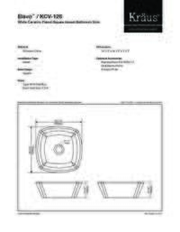 KCV126 Spec Sheet