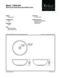KCV341  Spec Sheet