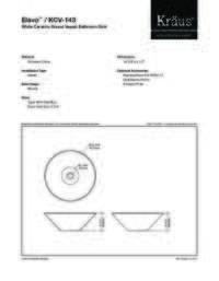 KCV143 Spec Sheet