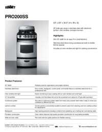Brochure PRO200SS