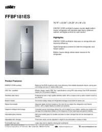Brochure FFBF181ES