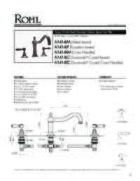 A1414 Spec Sheet