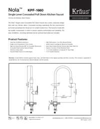 KPF1660 Spec Sheet
