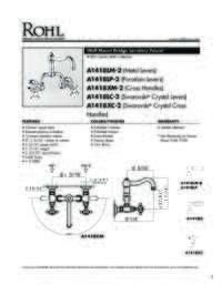 A1418 Spec Sheet
