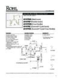 A1419 Spec Sheet