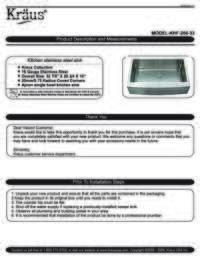 KHF 200 33 Installation Manual
