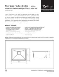 KHU24 Spec Sheet