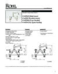 A1420 Spec Sheet