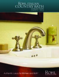Country Bath Collection Brochure