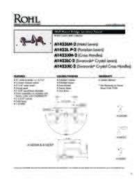 A1423 Spec Sheet
