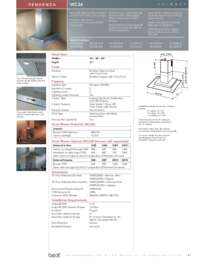 Specifications Sheet