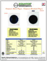 Dryer Specifications Sheet