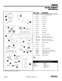 ABR626ST Parts Manual