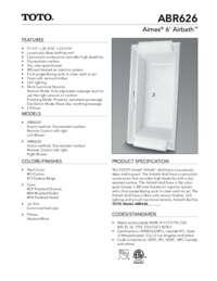 ABR626ST Spec Sheet