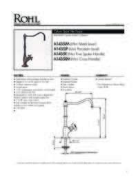 A1435 Spec Sheet