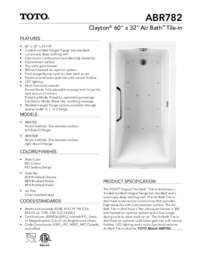 ABR782 Spec Sheet