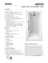 ABR782 Spec Sheet