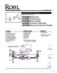 A1454 Spec Sheet