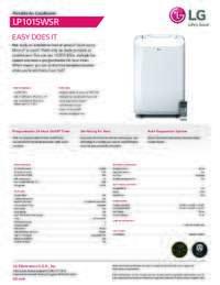 LP1015WSR Spec Sheet