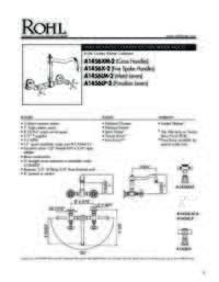 A1456 Spec Sheet
