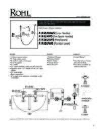 A1456WS2 Spec Sheet