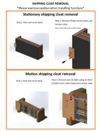 Loveseat Assembly Instructions