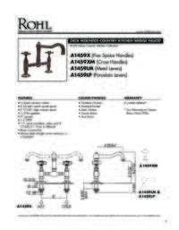 A14592 Spec Sheet
