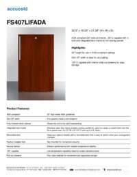 Brochure FS407LIFADA