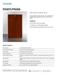 Brochure FS407LFRADA
