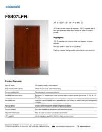 Brochure FS407LFR