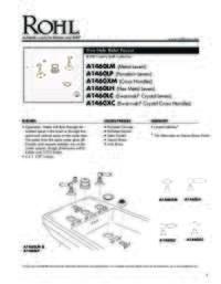 A1460 Spec Sheet