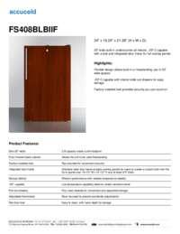 Brochure FS408BLBIIF