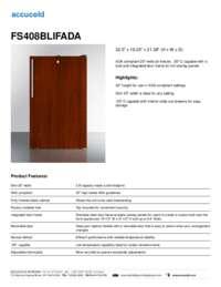 Brochure FS408BLIFADA
