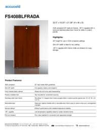 Brochure FS408BLFRADA